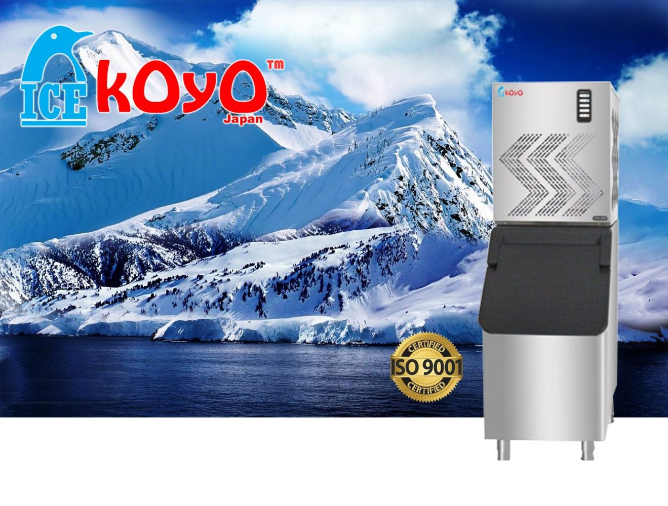 ICE MACHINE KOYO-S250-S350