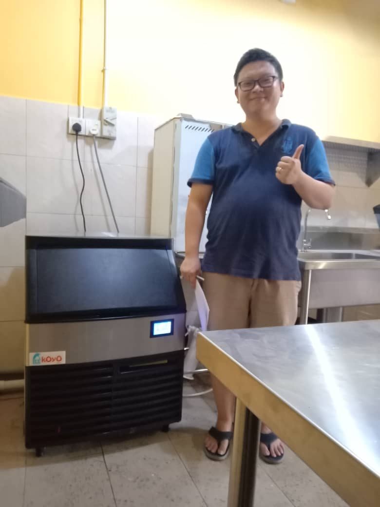 Koyo Ice Machine Customer SS2
