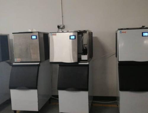 中国碧桂园购买4台KOYO 制冰机 KOYO Ice Maker Machine Customer