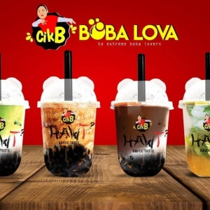 CikB Boba Lova - Bubble Tea Koyo Customer