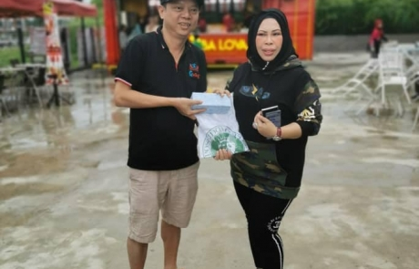 Koyo and Dato Seri Vila