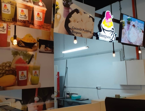 Bingsoo 21 Snack and Dessert Cafe – Koyo Ice Maker Customer (Sabah Sandakan)