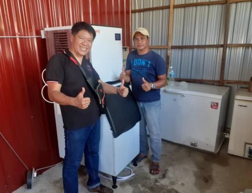Thanks to Charisse Enterprise Sabah- Ice Maker Machine Malaysia