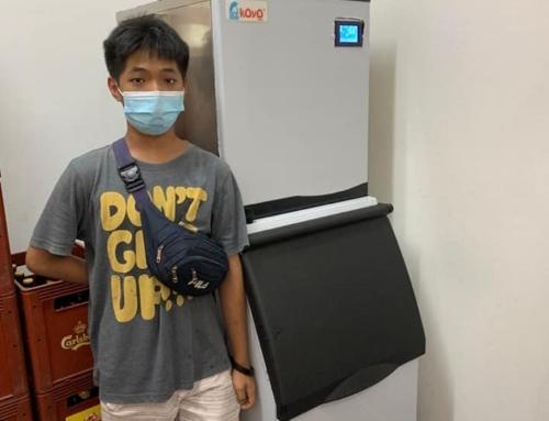 Thanks to Restoran BB Corner Melaka- Ice Maker Machine Malaysia