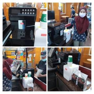 Ampang Hospital Coffee Machine