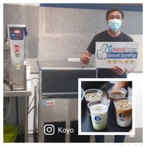 Mesin Ais Koyo Zus Coffee Melaka