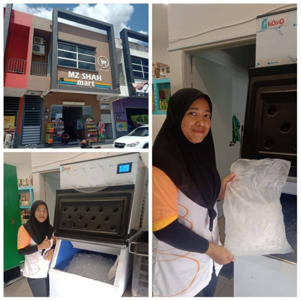 Selling Ice Cubes - Ice Maker Machine Malaysia