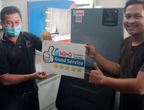 Thanks to Johor Customer Using Koyo Ice Maker Machine K150