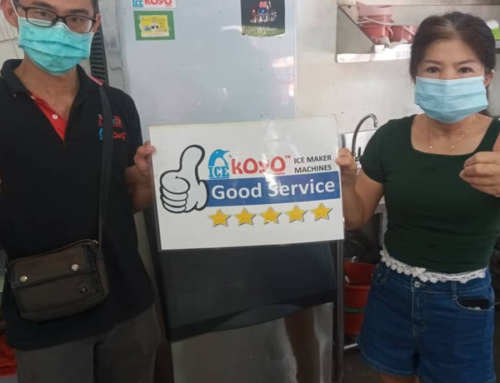 Thanks to Pahang Customer Using Koyo Ice Maker Machine K150