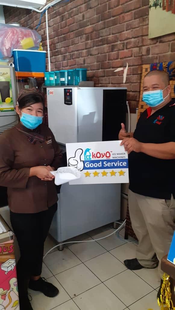 Koyo Sabah Ice Machine Customer