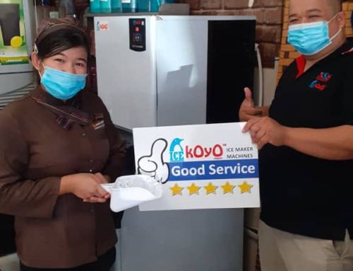 Thanks to Sabah Customer Using Koyo Ice Maker Machine