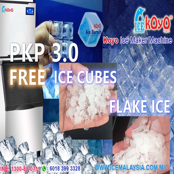 Making Own Ice Cubes - Flake Ice