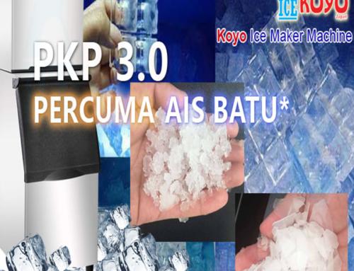 Berita Terbaik MESIN AIS Waktu PKP3.0 – Percuma Mengguna Mesin Ais – Percuma Ais Batu Bersih